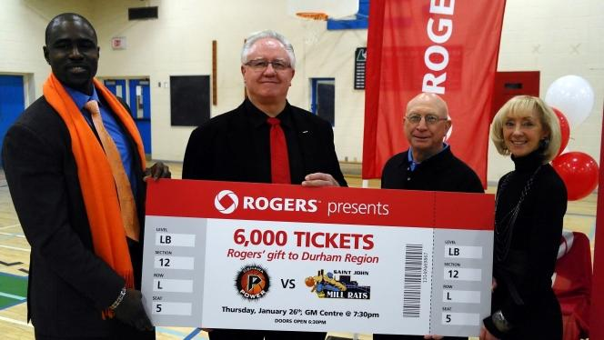 Rogers & Oshawa Power Partner To Improve Fan Experience